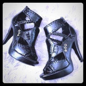 Chinese Laundry Ankle Strap Heels